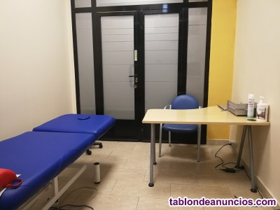 Alquiler de box dentro de una clinica en pleno rendimiento
