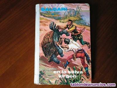 Emilio salgari en la selva virgen editorial gahe nº 37 madrid 1972