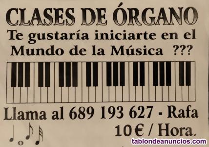 Clases de teclado y órgano