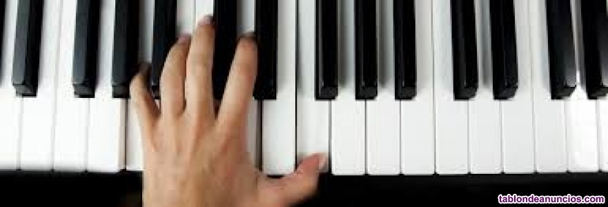 Clases de piano, canto y flauta travesera