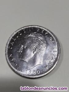 25 pesetas 1980 *80 sin circular