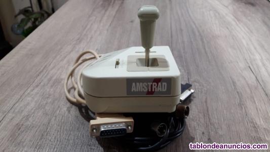 Joystick aj-5 y micrófono amstrad