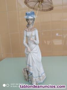 Porcelana de Dama con sombrilla