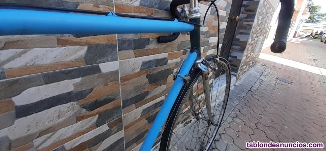 Bicicleta carrera antigua