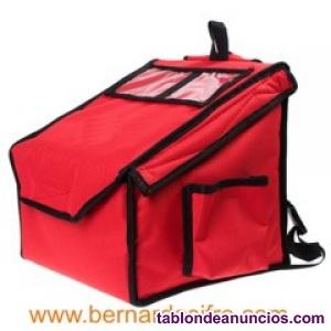 Bolsas termicas para repartos de pizzas y comida para llevar