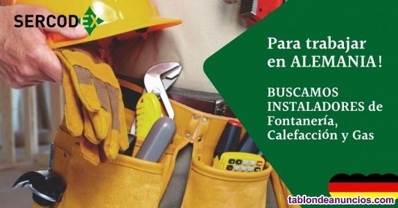 EMPLEO ESTABLE EN ALEMANIA para instaladores de fontanería, calefacción y gas