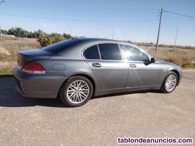 BMW 730Da  218CV techo CUERO