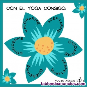 Curso online de yoga para niños con maya