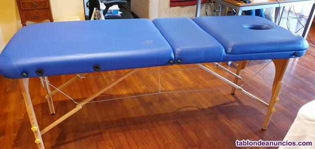 Camilla ortopédica para terapeutas, fisioterapeutas, quiromasajistas