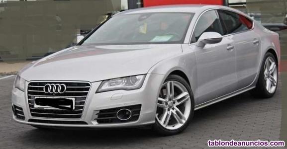 Audi a7 s line 5 plazas