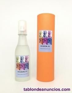 Perfume artesanal para gatos y perros. 100 ml. Lote 40 uds