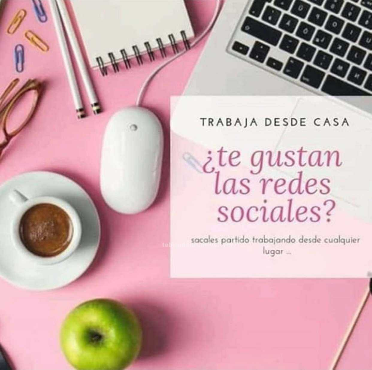 TRABAJO DESDE CASA con tus REDES SOCIALES