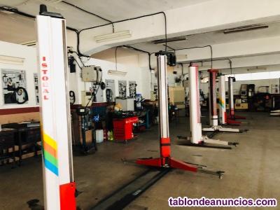 Maquinaria para taller de automoviles