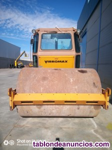Rodillo Compactador de tierras Case Vibromax W 111