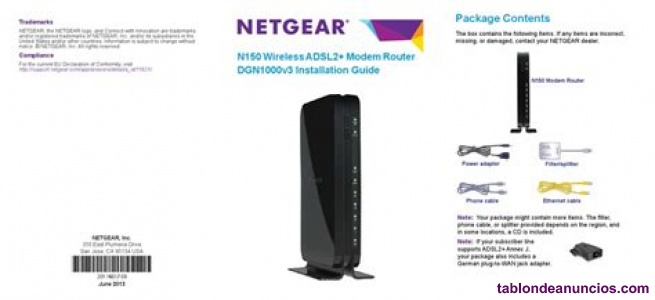 NETGEAR Router DGN1000v3