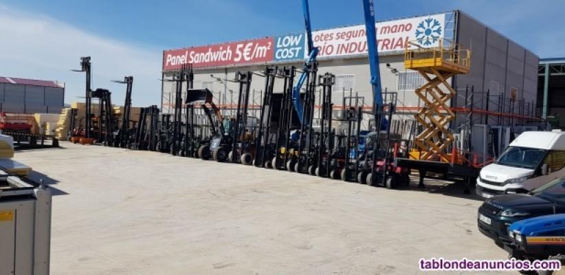 Vendo Maquinaria de Ocasión:Carretillas,Palas,retro-excavadoras,elevadoras,furgo