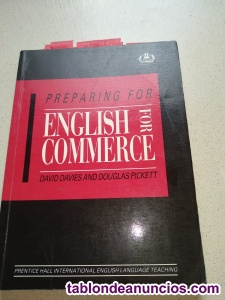 Preparing for English for Commerce