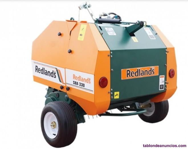 Mini rotoempacadora de sarmientos redlands