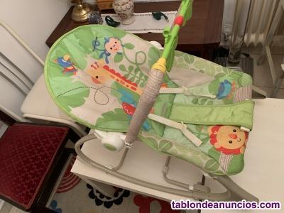 Hamaca FISHER PRICE para bebé.