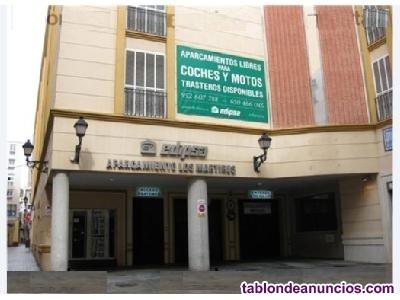 Se alquila plaza amplia de aparcamiento para coche en Centro Histórico de Málaga
