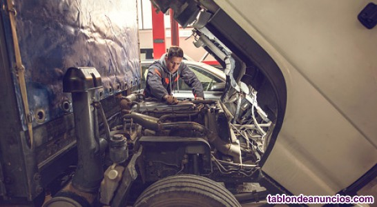 Se busca mecánico para mecánica pesada