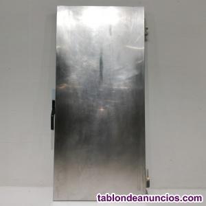 Puerta de inox 86x186cm