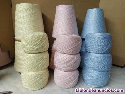 Perle de algodón egipcio Presencia En conos  --- 3€... 100gr En ovillos ---
