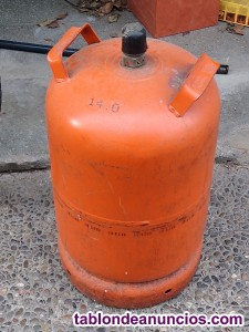 Vendo bombona gas butano vacía