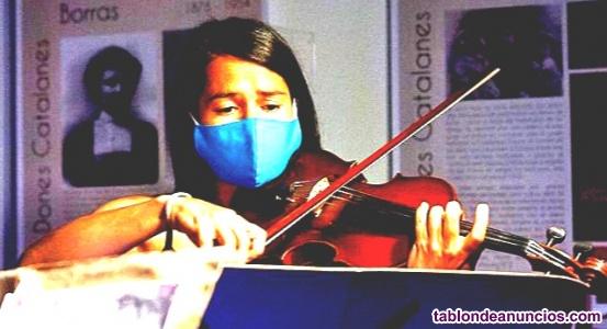 Profesora de Violin y Audioperceptiva