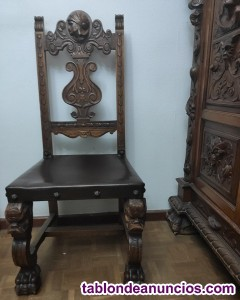 Muebles clásicos de despacho