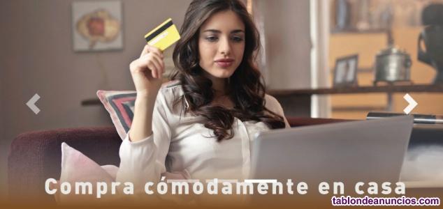 Traspaso centro comercial online ( más de 21.000 productos)