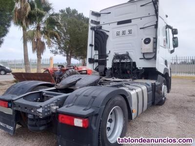 Tractora renault t480 comfort con equipo hidraulico.