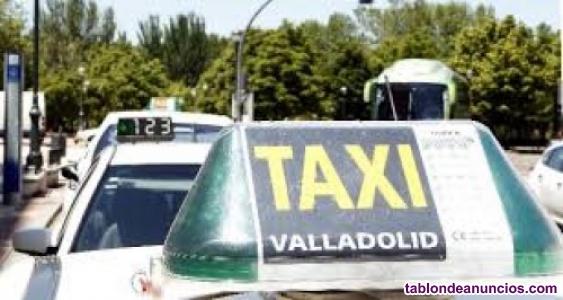 Traspaso licencia de taxi valladolid
