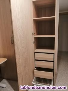 Armario Pax Ikea y estantería