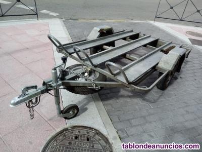 Carro transporte 3 motos