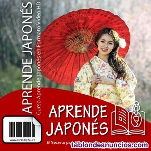 Curso aprende Japonés desde casa