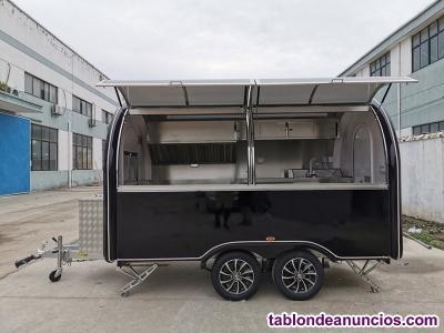 Tablón De Anuncios Erzoda Food Truck Trailers Remolques Hot Dog Hamburguesas Comida Rápida