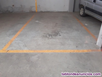 Venta plaza de parking Escassi