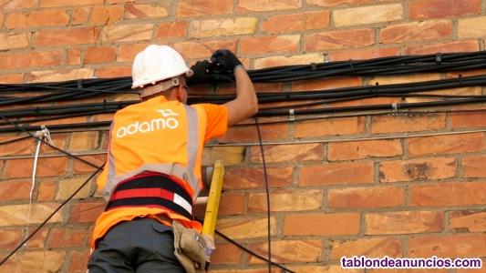 Instalador de fibra óptica (Tarragona)
