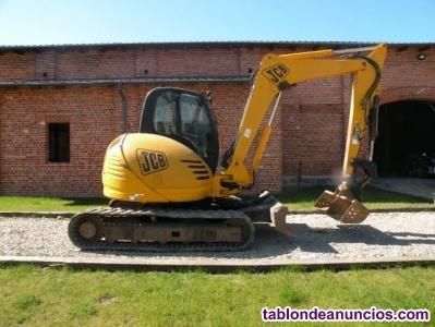 Mini excavadora JCB 8080