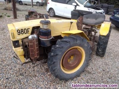Tractor articulado pasquali 980 e.