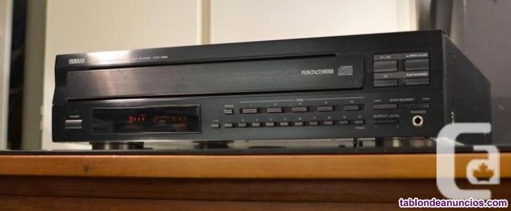 LECTOR DE CDs Yamaha CDC-665 cambiador de 5 CD