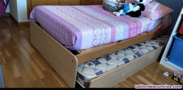 Cuna convertible en cama