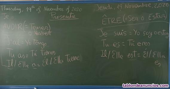 Vendo apuntes de Inglés y Francés de EOI y Alianza francesa