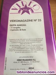 PELUQUERIA cinta VHS - 11 recogidos - 4 peinados de fiesta
