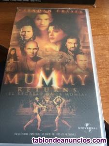 Cinta de video vhs -el regreso de la momia -the mummy returns