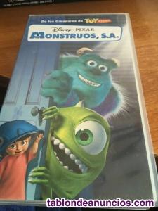 Monstruos s.a. *** infantil (dibujos animados) *** walt disney -cinta vhs