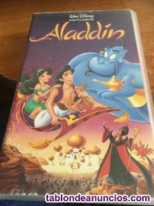 Aladin - walt disney -cinta vhs