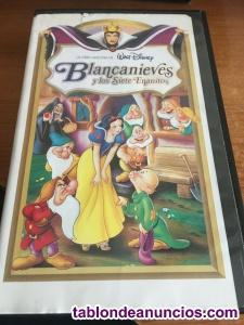 Blancanieves y los Siete Enanitos (VHS, 1994, La Obra Maestra de Walt Disney)