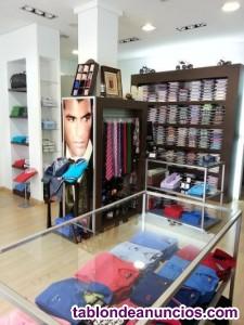 Mobiliario tienda de moda caballero